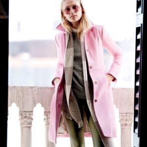 J. Crew double cloth lady day coat